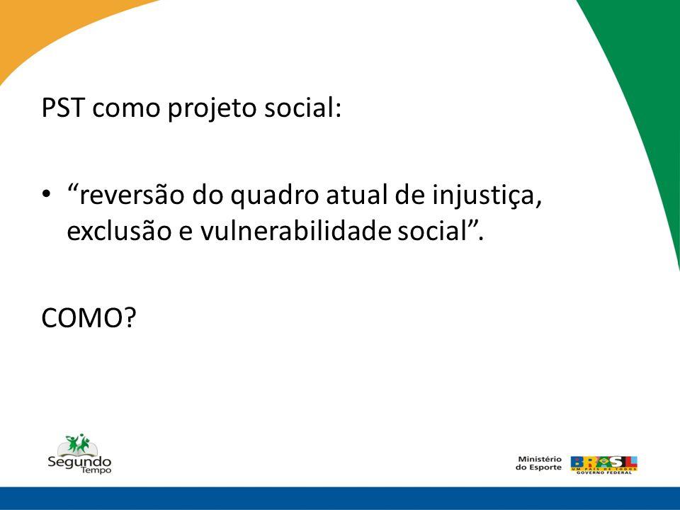 PST como projeto social:
