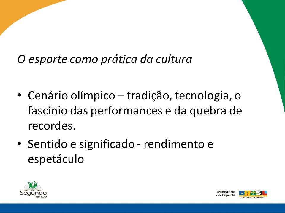 O esporte como prática da cultura
