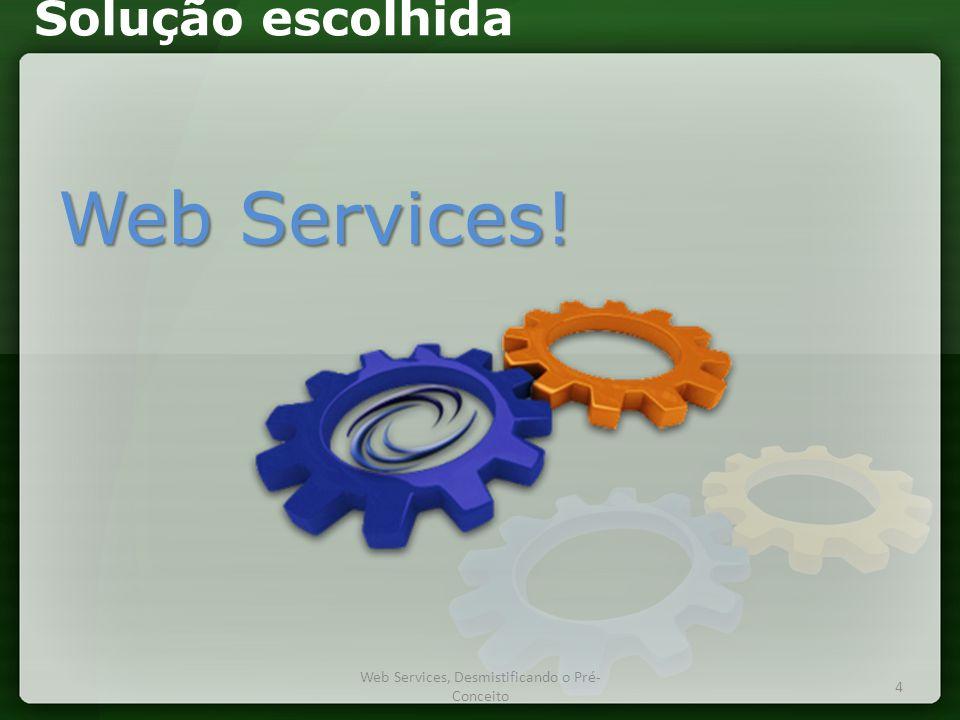 Web Services, Desmistificando o Pré-Conceito