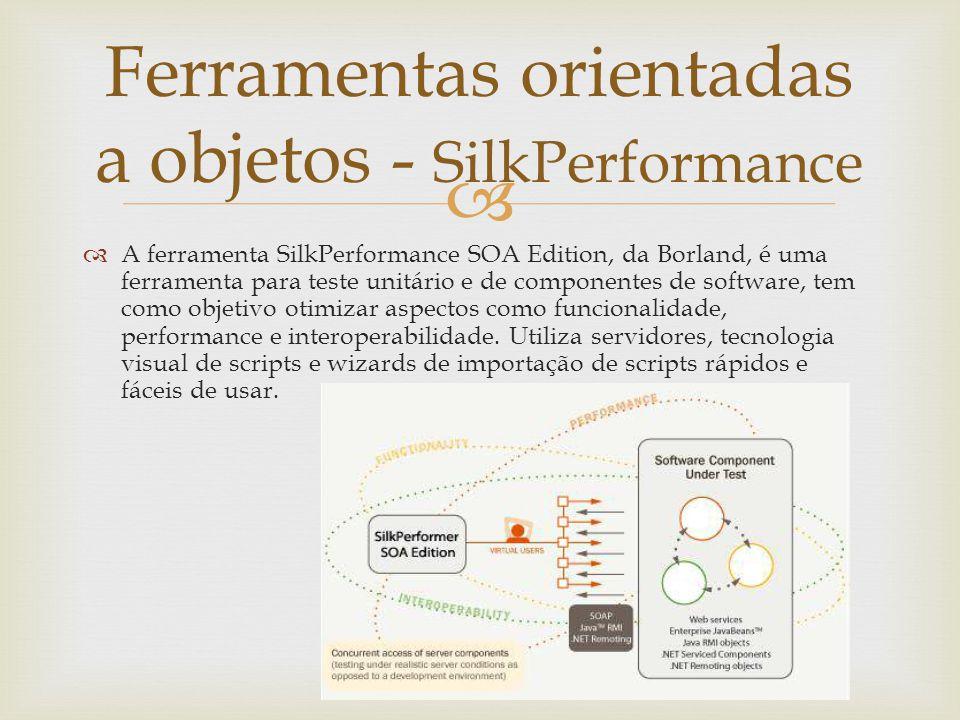 Ferramentas orientadas a objetos - SilkPerformance