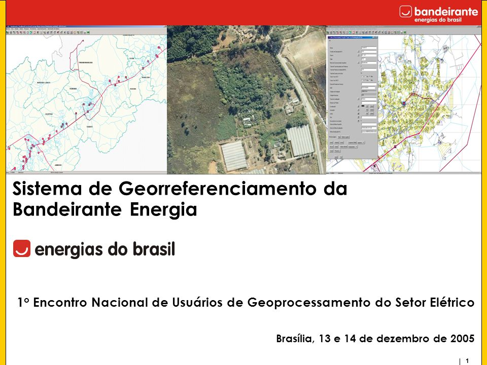 Sistema de Georreferenciamento da Bandeirante Energia