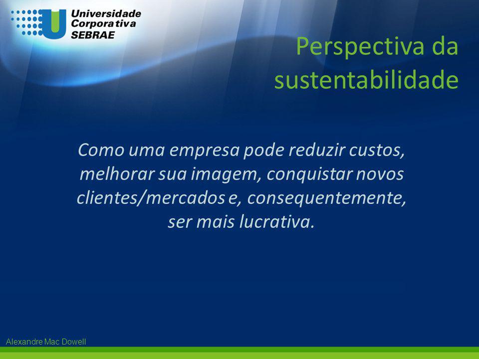 Perspectiva da sustentabilidade