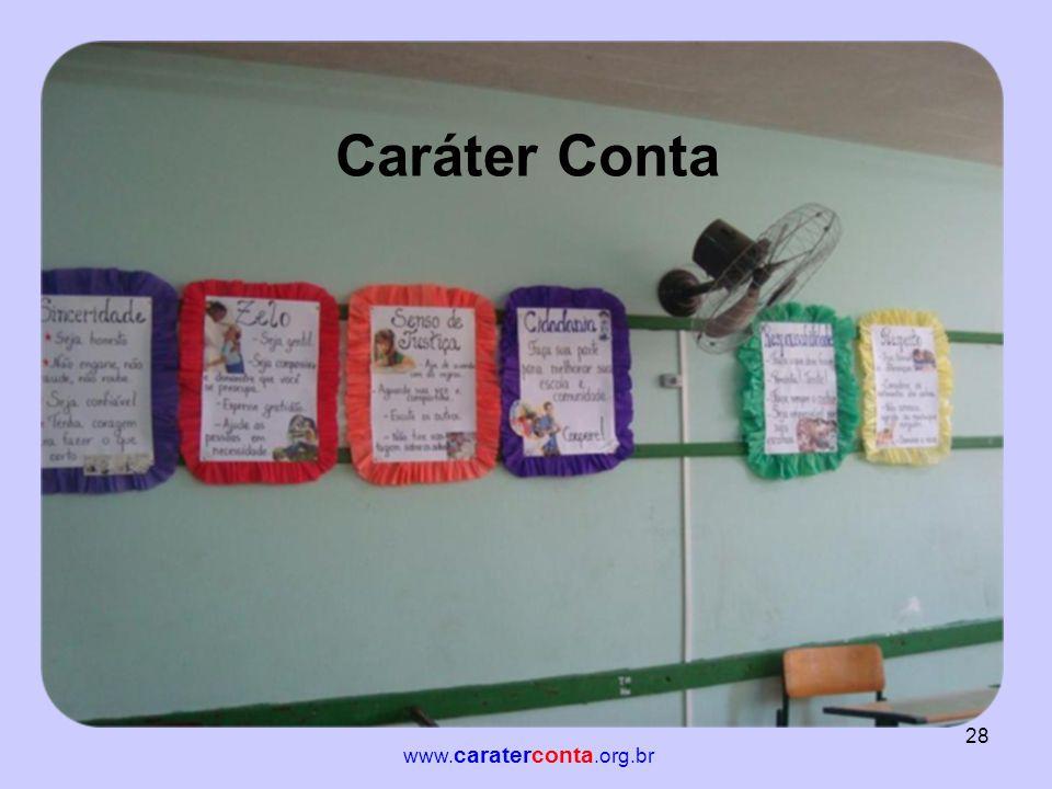 Caráter Conta www.caraterconta.org.br