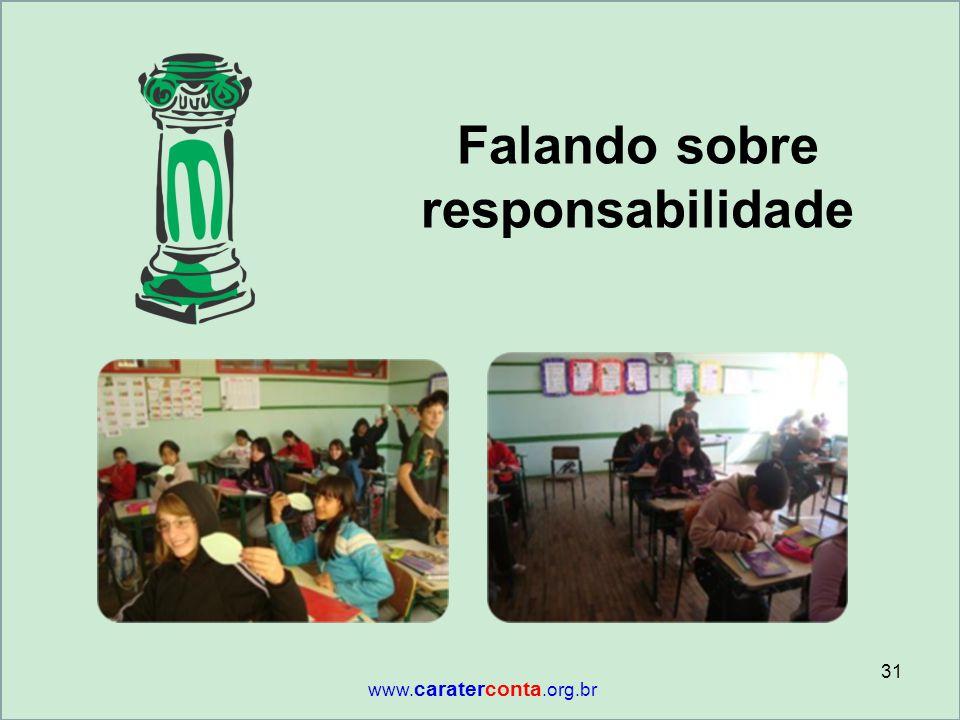 Falando sobre responsabilidade