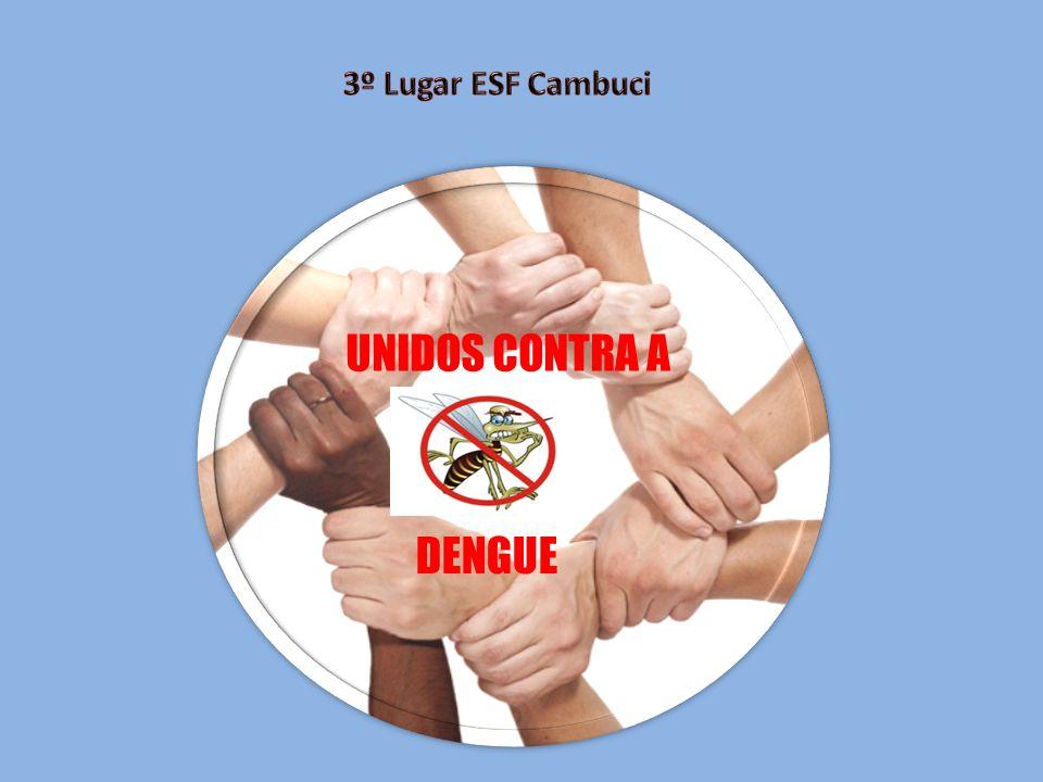3º Lugar ESF Cambuci UNIDOS CONTRA A DENGUE