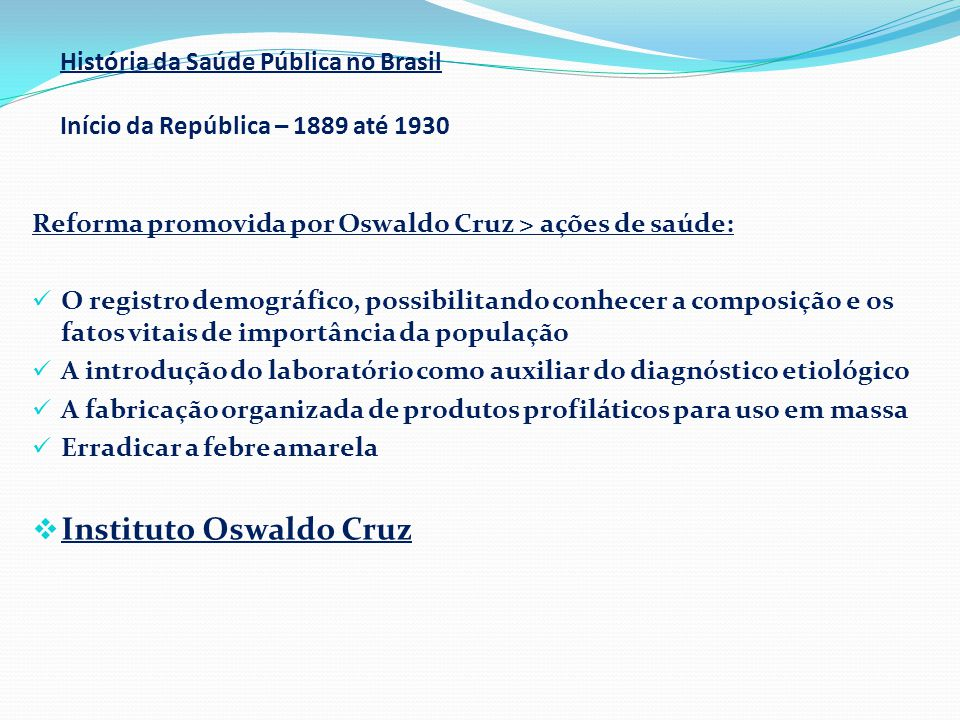 Instituto Oswaldo Cruz