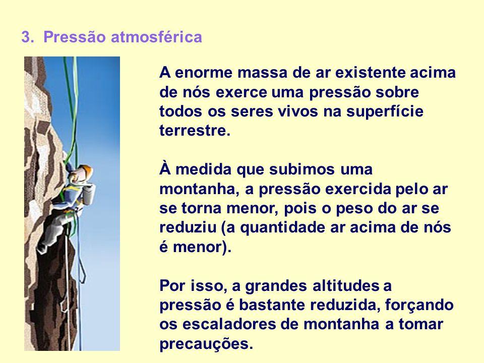3. Pressão atmosférica