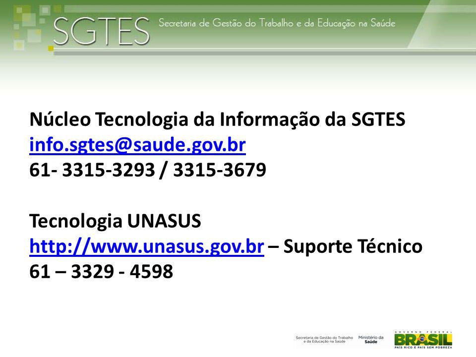 Núcleo Tecnologia da Informação da SGTES