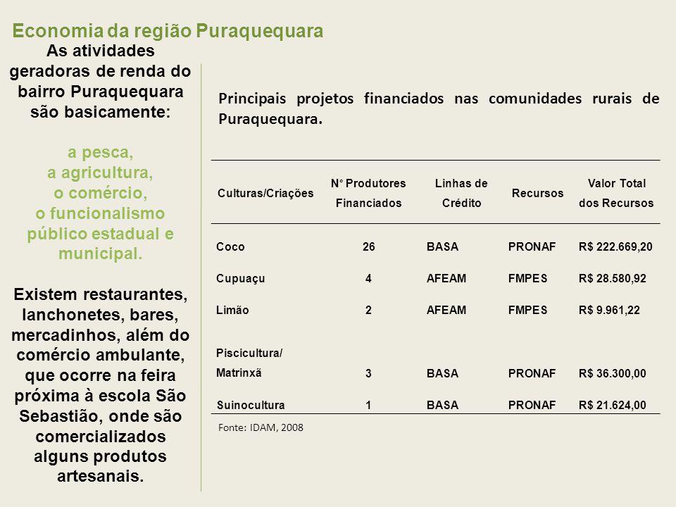 Economia da região Puraquequara