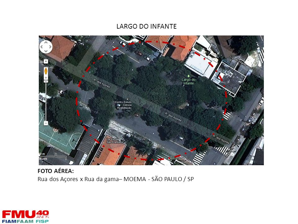 LARGO DO INFANTE FOTO AÉREA: