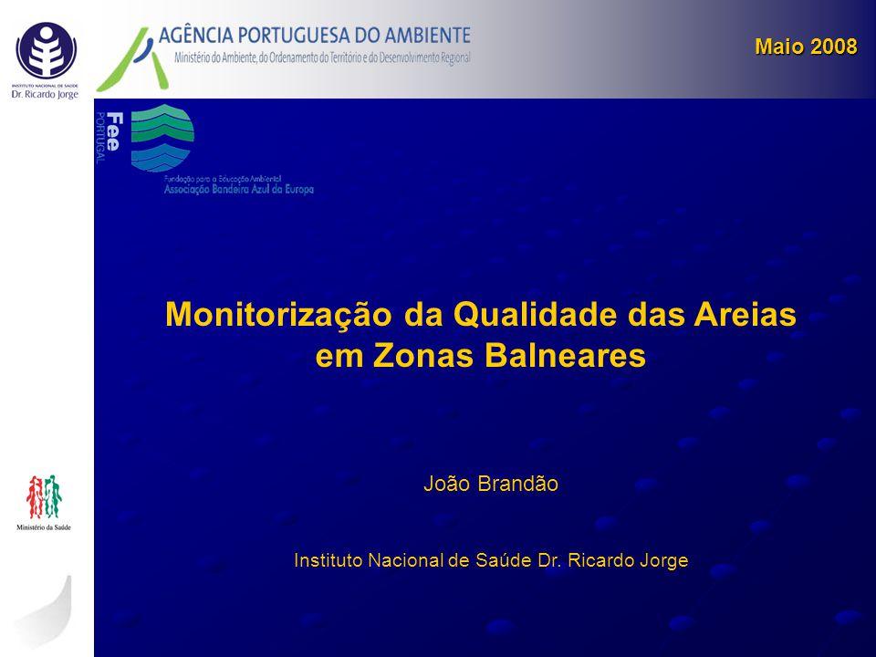 Monitorização da Qualidade das Areias em Zonas Balneares