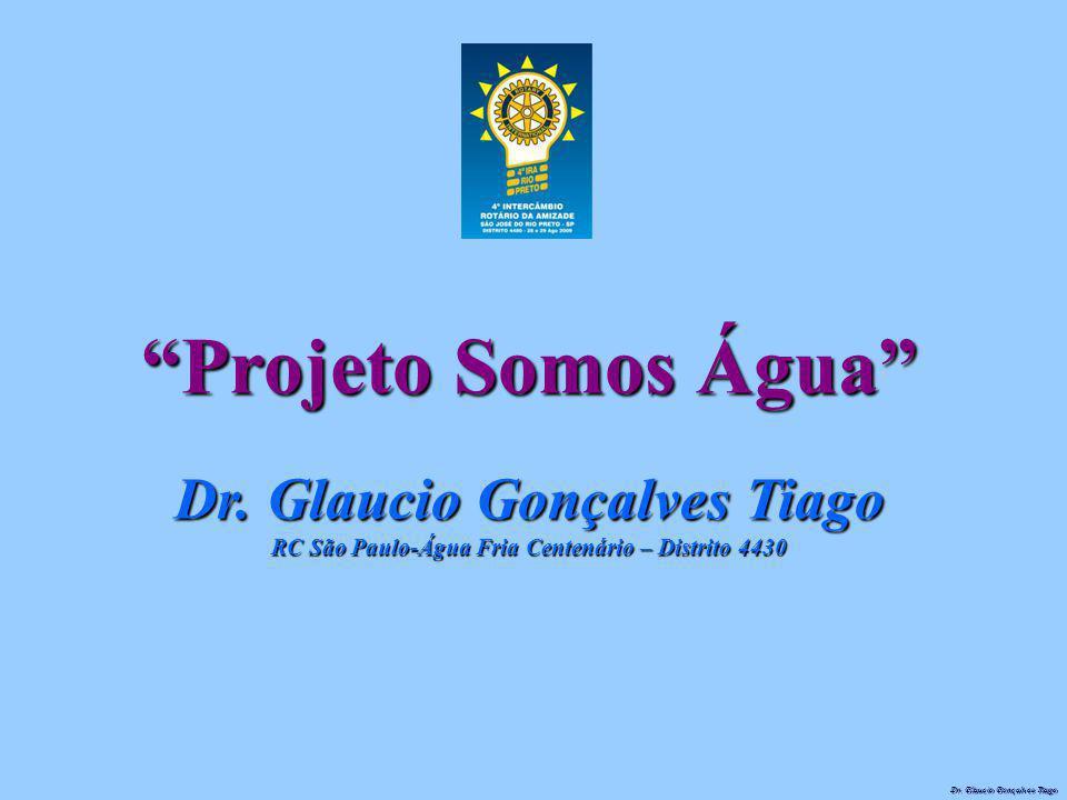 Projeto Somos Água Dr. Glaucio Gonçalves Tiago