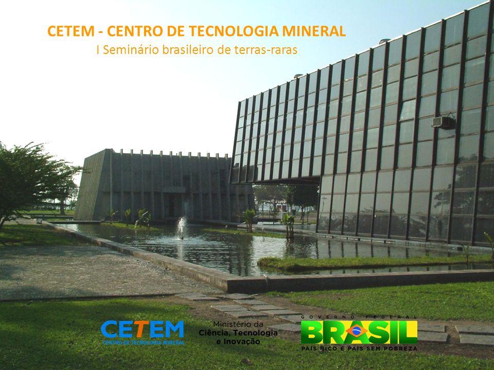 CETEM - CENTRO DE TECNOLOGIA MINERAL
