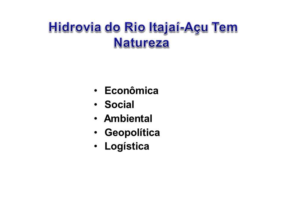 Hidrovia do Rio Itajaí-Açu Tem Natureza