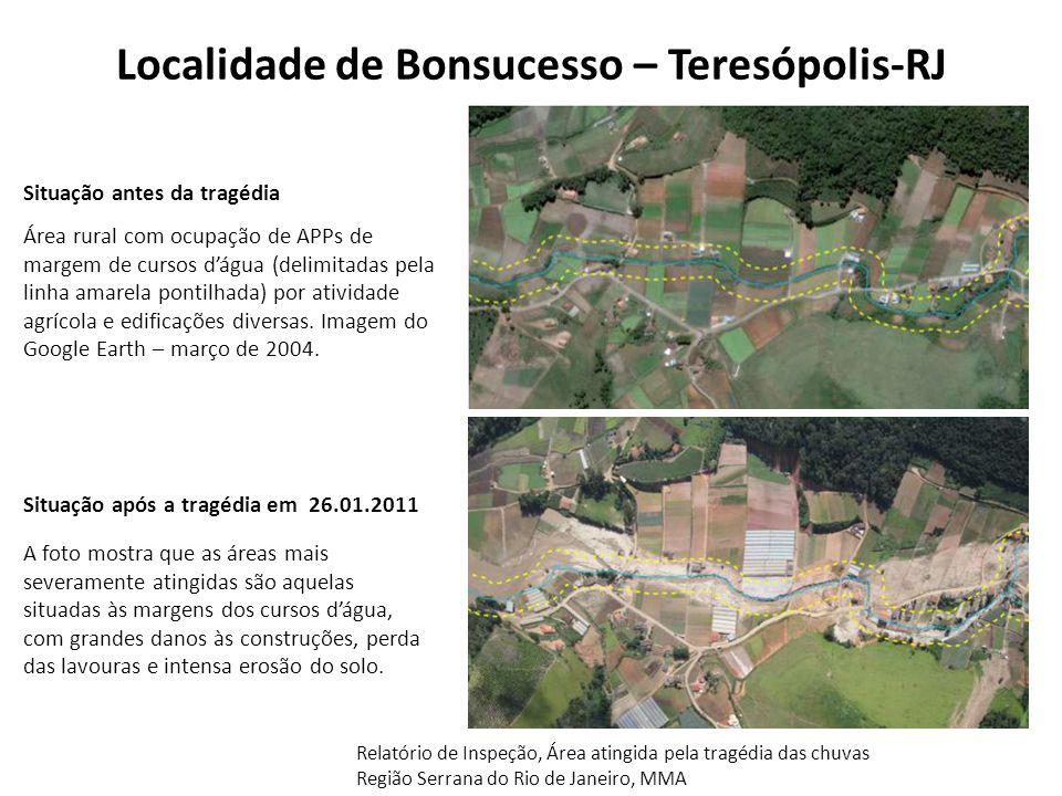 Localidade de Bonsucesso – Teresópolis-RJ