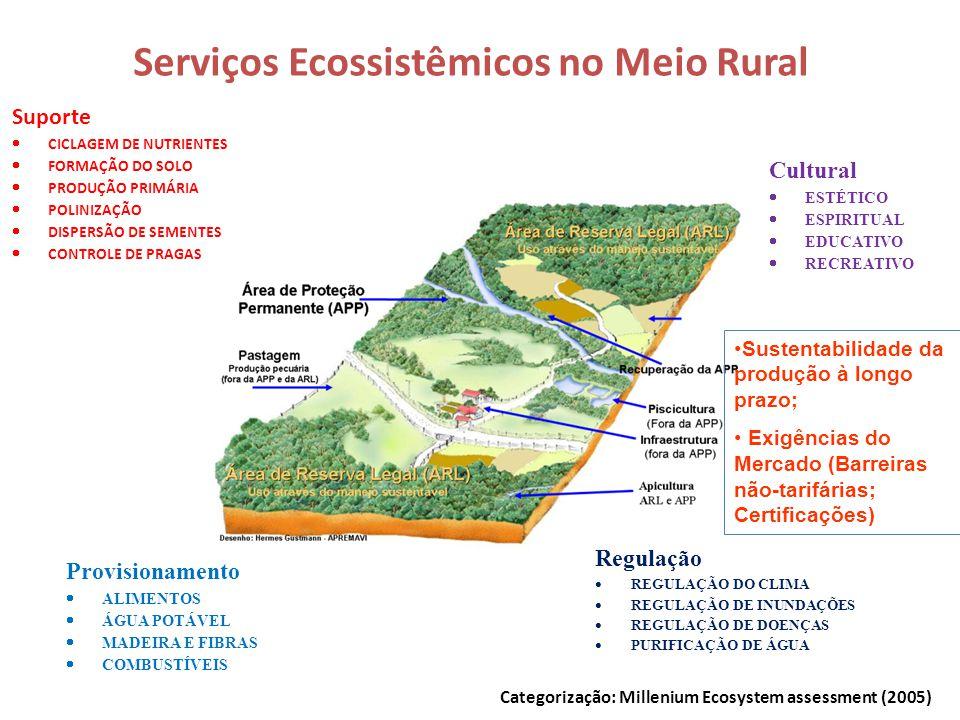 Serviços Ecossistêmicos no Meio Rural
