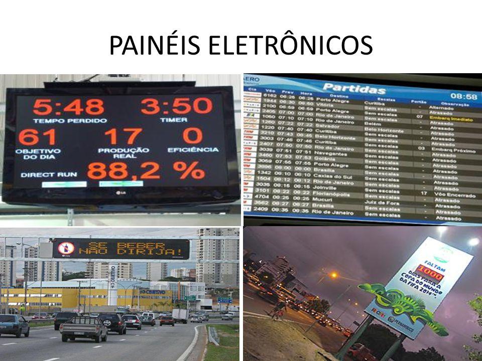 PAINÉIS ELETRÔNICOS