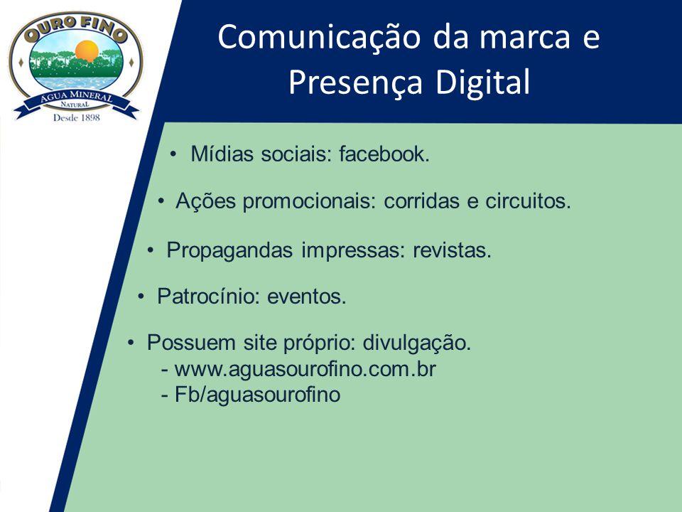 Comunicação da marca e Presença Digital