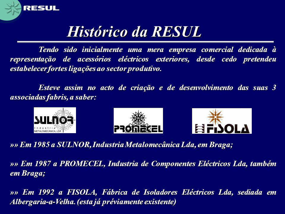 Histórico da RESUL