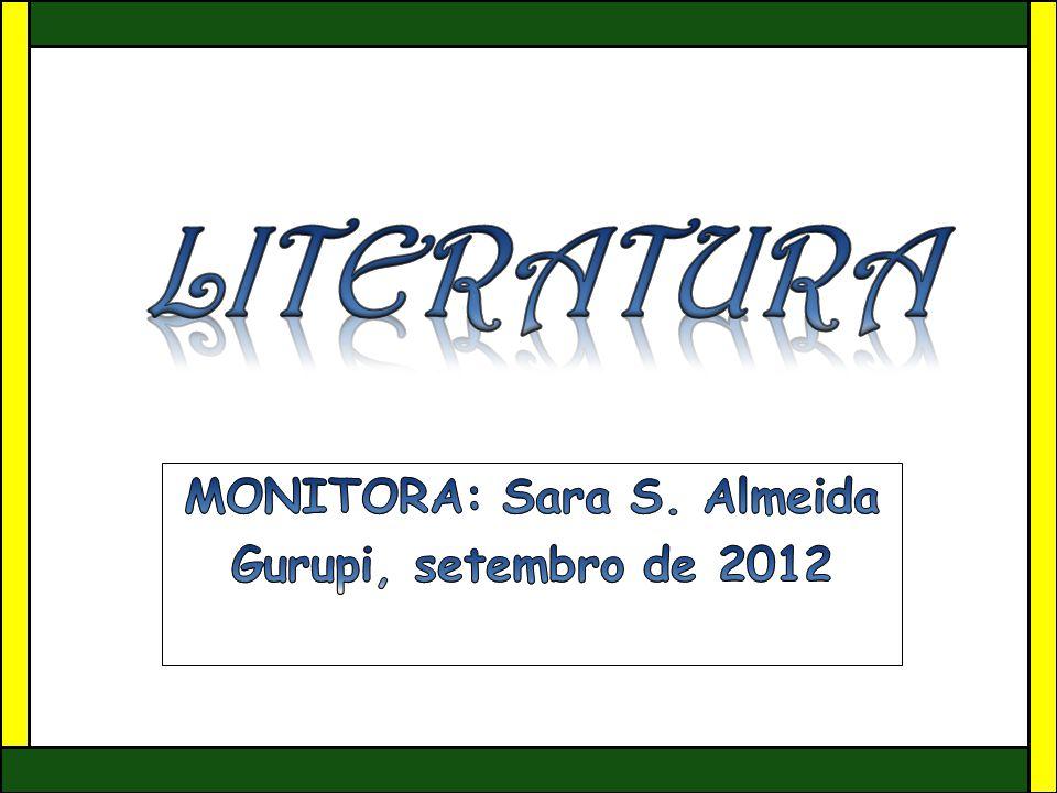 MONITORA: Sara S. Almeida Gurupi, setembro de 2012