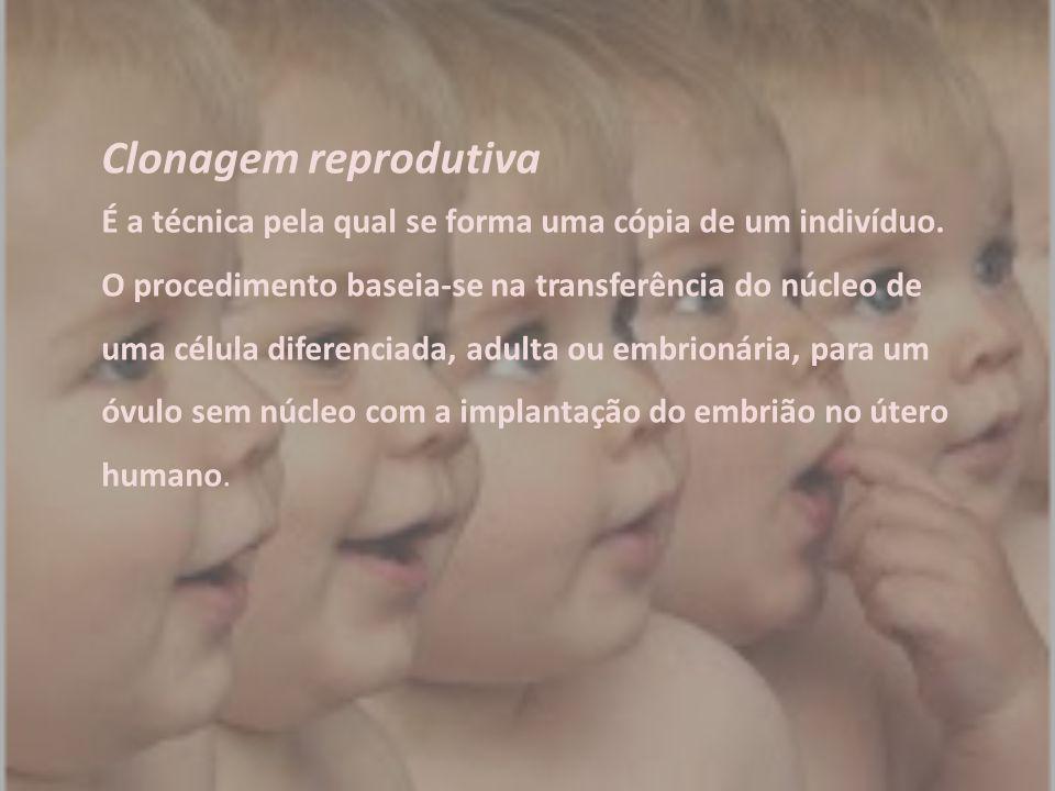 Clonagem reprodutiva