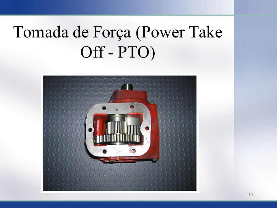 Tomada de Força (Power Take Off - PTO)