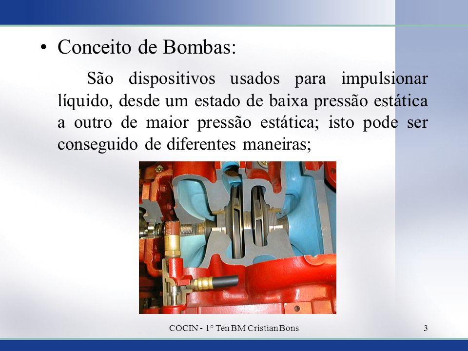 COCIN - 1° Ten BM Cristian Bons
