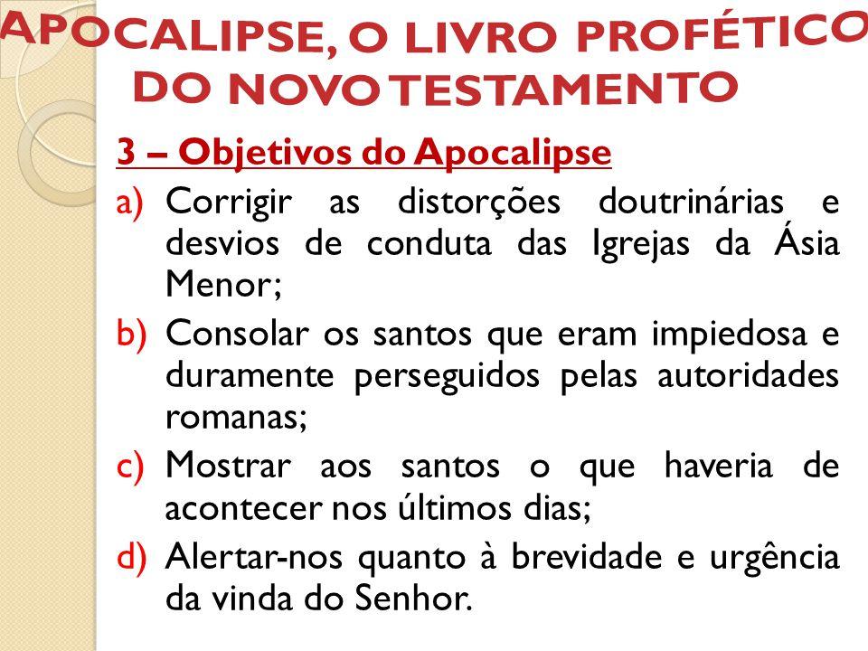 APOCALIPSE, O LIVRO PROFÉTICO DO NOVO TESTAMENTO