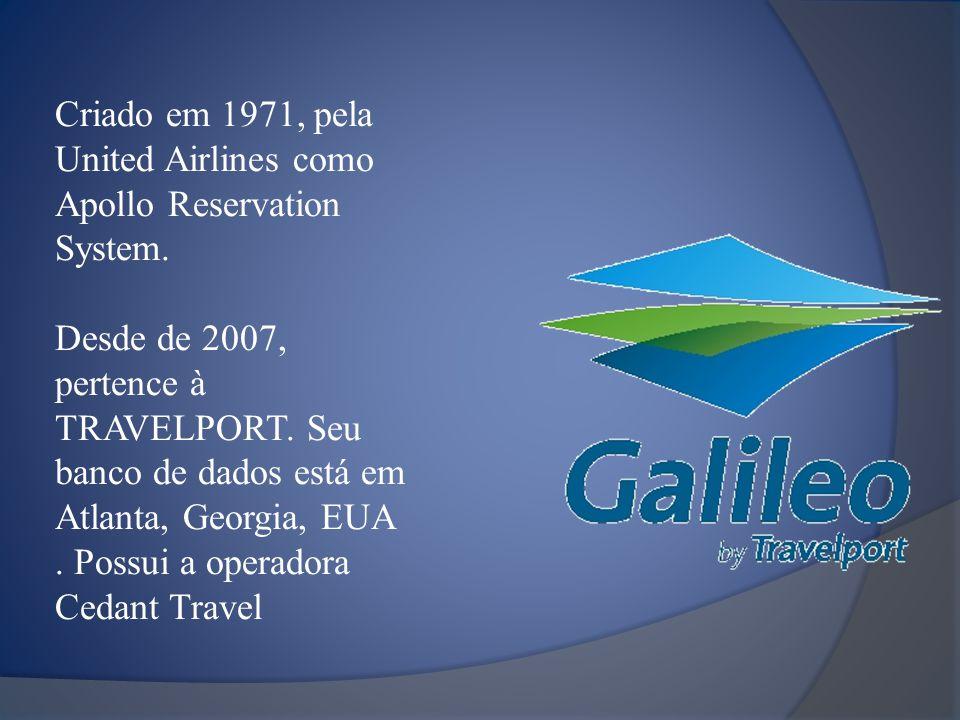 Criado em 1971, pela United Airlines como Apollo Reservation System.