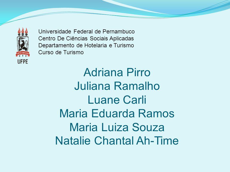 Universidade Federal de Pernambuco Centro De Ciências Sociais Aplicadas Departamento de Hotelaria e Turismo