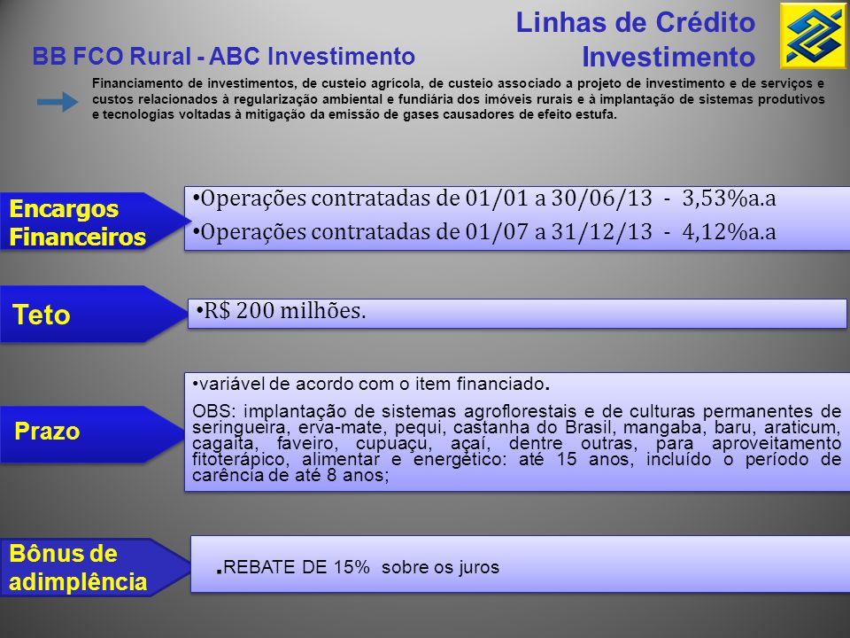 .REBATE DE 15% sobre os juros