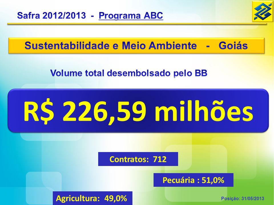 Sustentabilidade e Meio Ambiente - Goiás