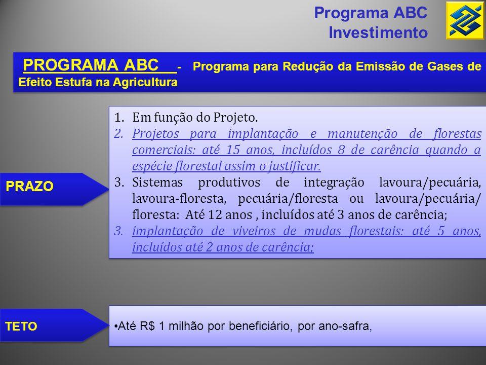 Programa ABC Investimento