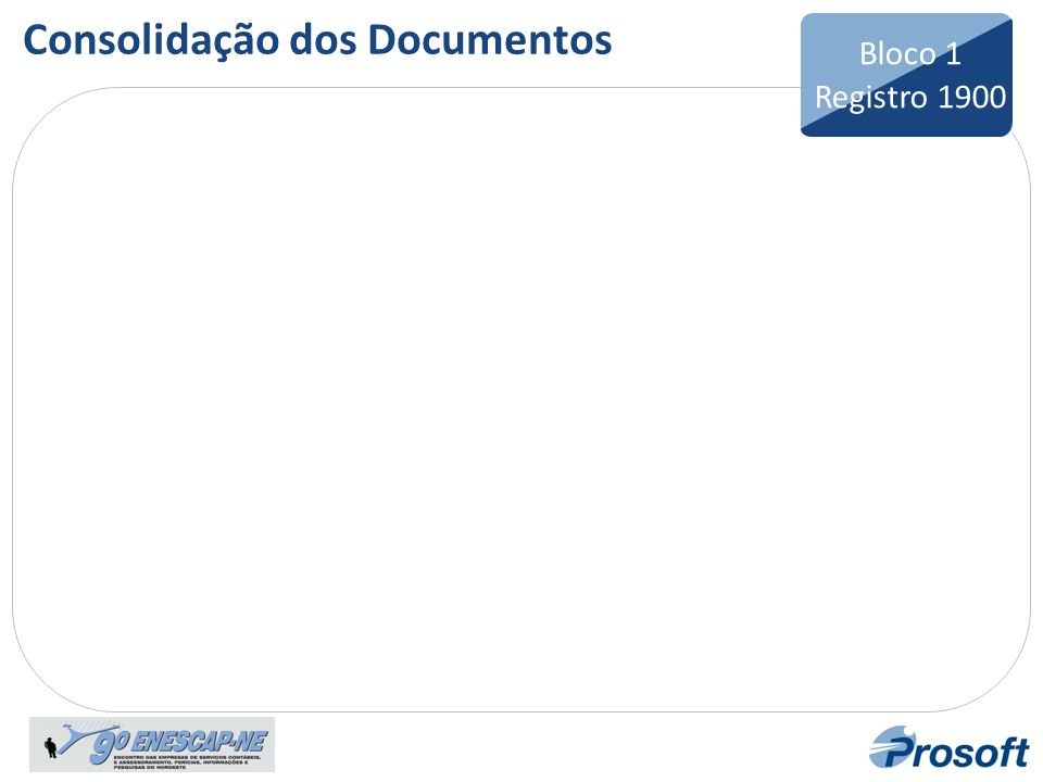 Consolidação dos Documentos
