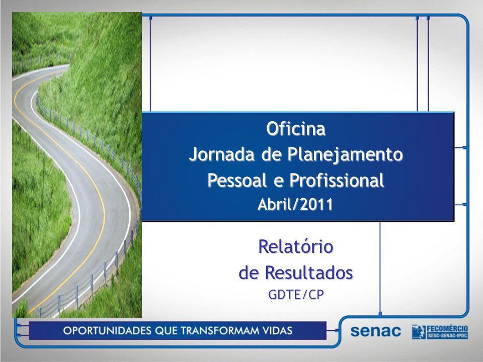 Oficina Jornada de Planejamento Pessoal e Profissional
