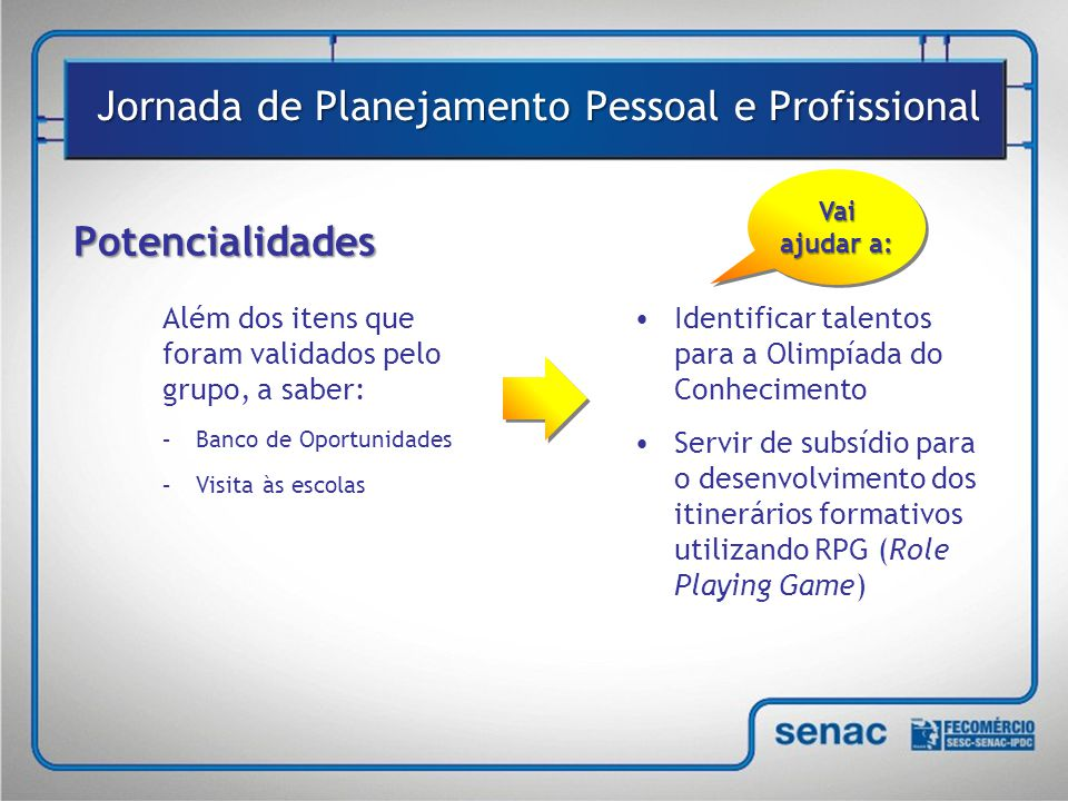 Jornada de Planejamento Pessoal e Profissional