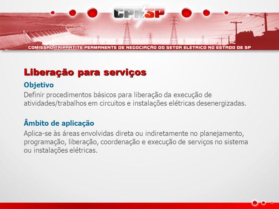 Liberação para serviços