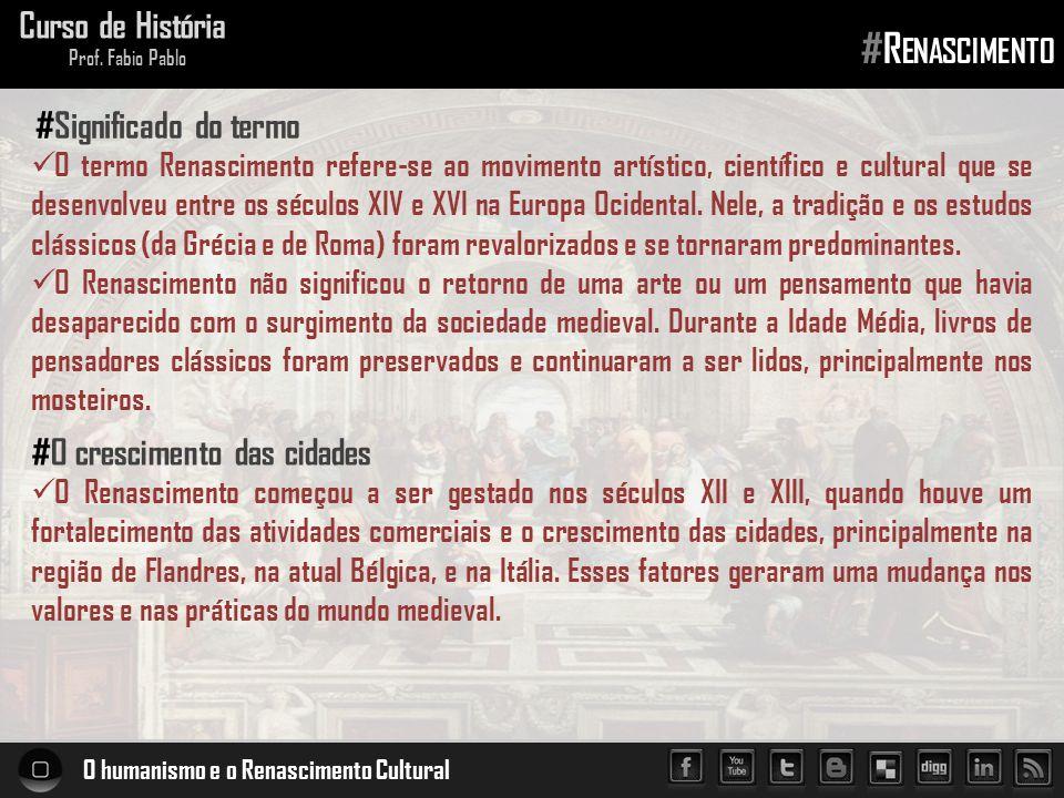 #Renascimento Curso de História #Significado do termo