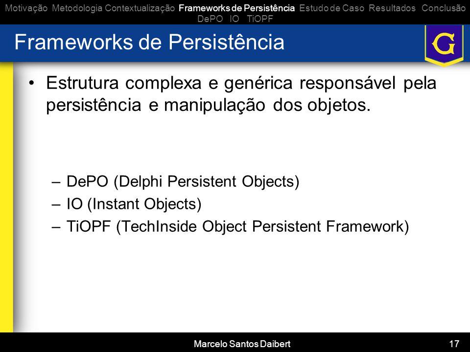 Frameworks de Persistência