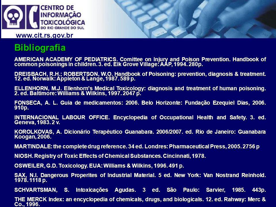 Bibliografia www.cit.rs.gov.br