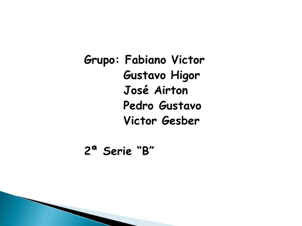 Grupo: Fabiano Victor Gustavo Higor José Airton Pedro Gustavo Victor Gesber 2ª Serie B