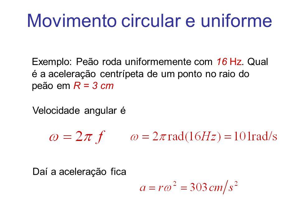Movimento circular e uniforme