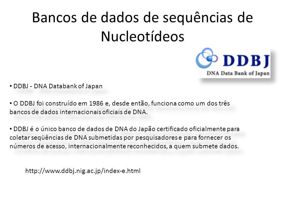 Bancos de dados de sequências de Nucleotídeos