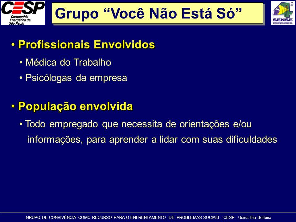 Grupo Você Não Está Só