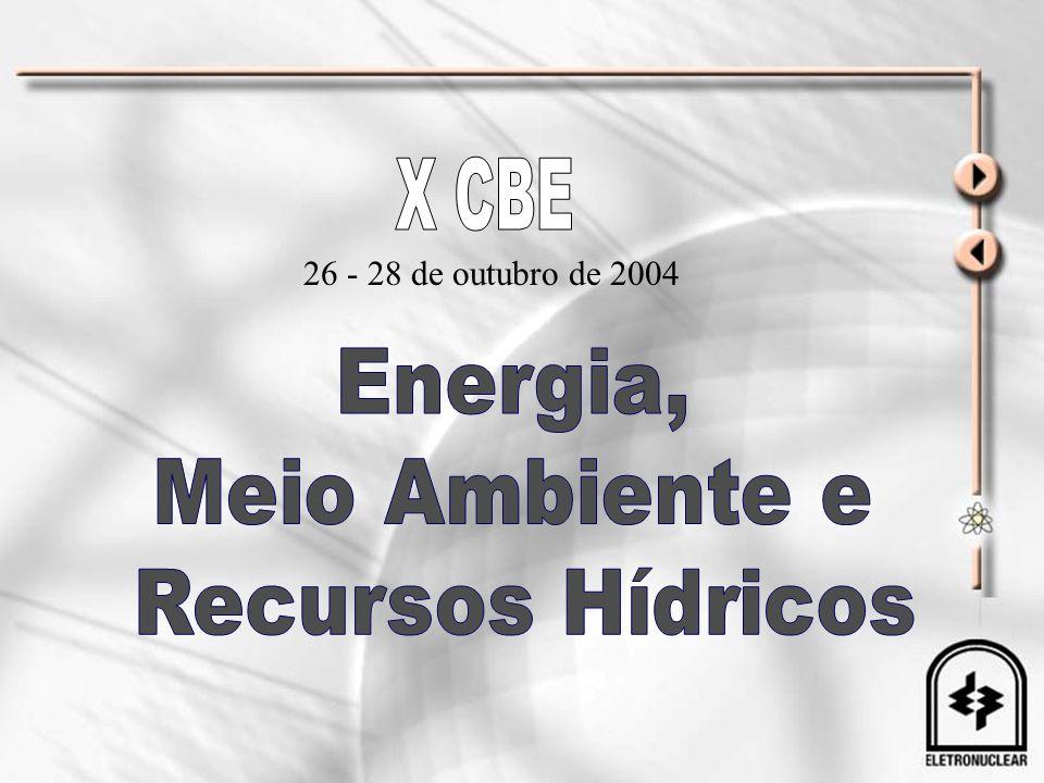 X CBE Energia, Meio Ambiente e Recursos Hídricos