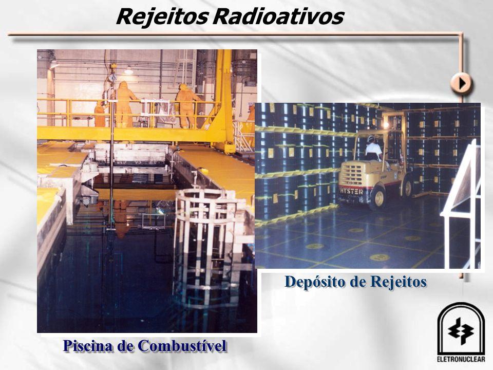 Rejeitos Radioativos Depósito de Rejeitos Piscina de Combustível