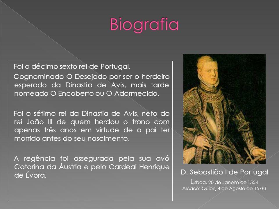 Alcácer-Quibir, 4 de Agosto de 1578)