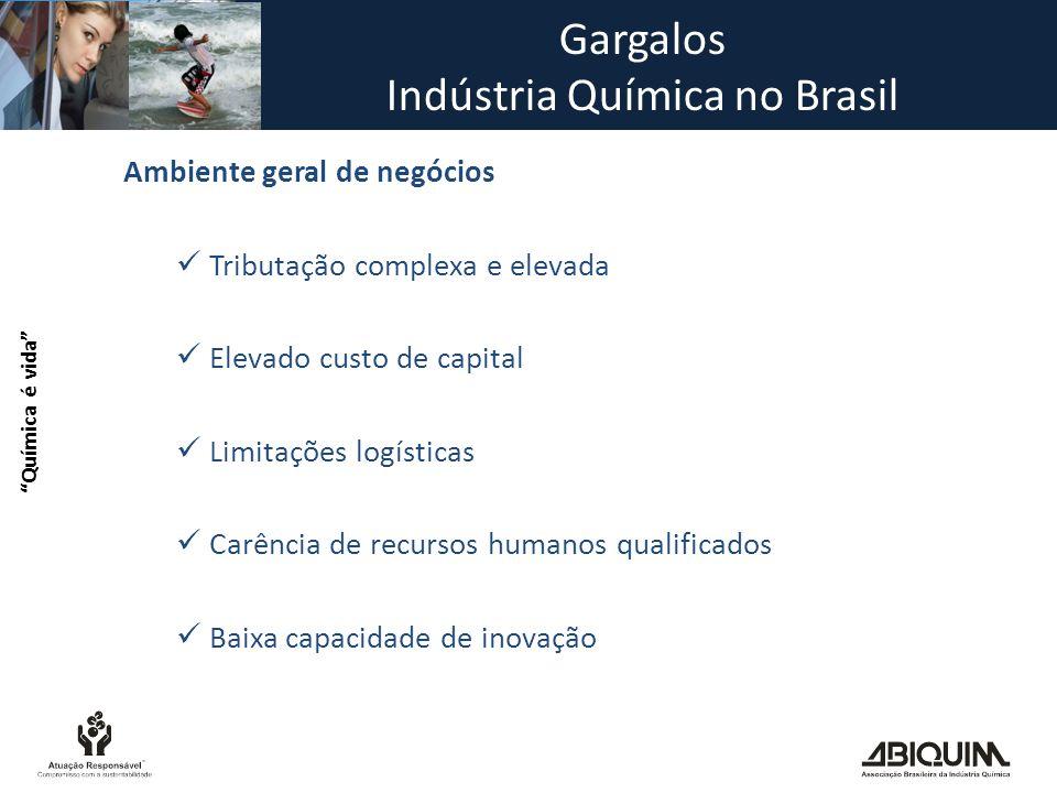 Gargalos Indústria Química no Brasil