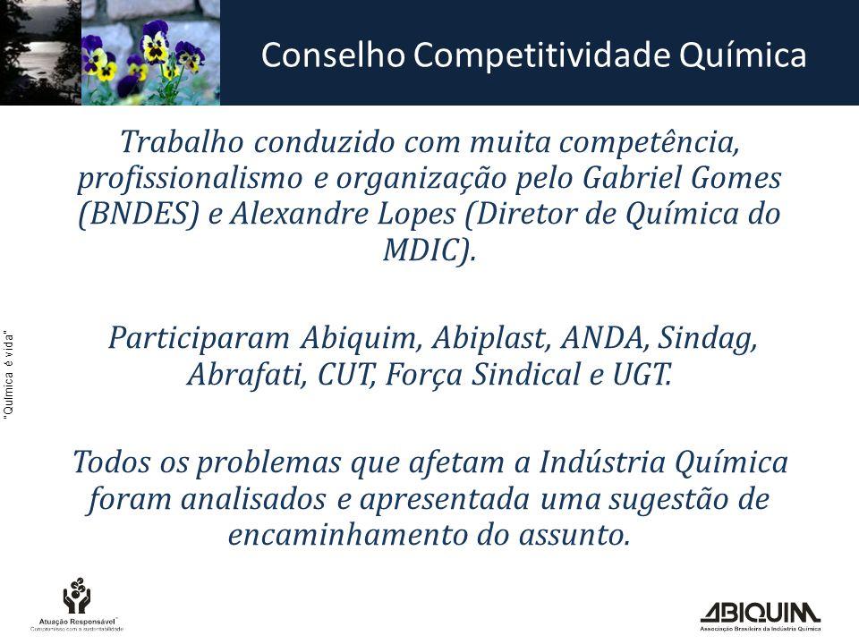 Conselho Competitividade Química