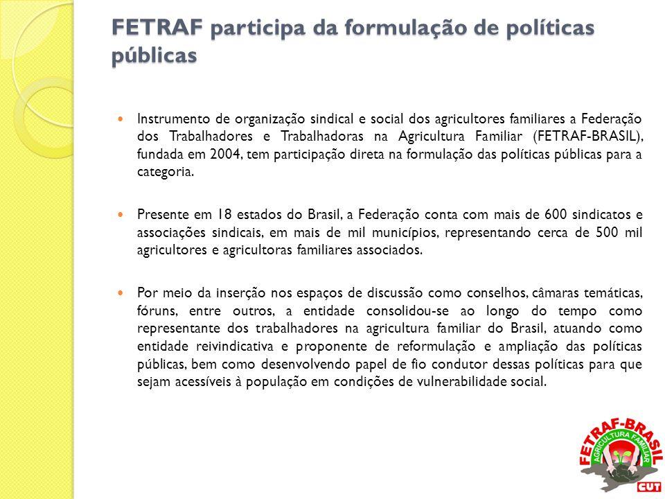 FETRAF participa da formulação de políticas públicas